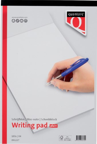 Schrijfblok A4 blanco 100 vel
