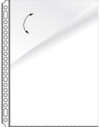 Showtassen A4 glashelder Kangaro twee open zijden transparant