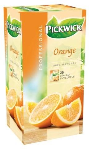 Pickwick thee sinaasappel pak van 25 stuks