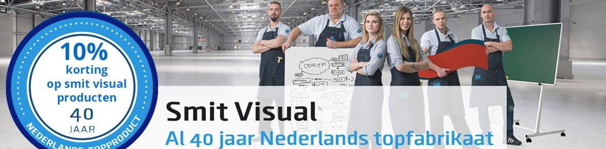 Smit Visual is jarig: 40 jaar presenteren uit Nederland