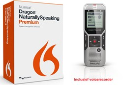 Spraakherkenningssoftware Dragon NaturallySpeaking Premium 13.0 Mobile