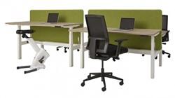 Zit sta bureau elektrisch verstelbaar 2 werkplekken