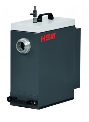Stofafzuiging voor HSM karton versnipperaar
