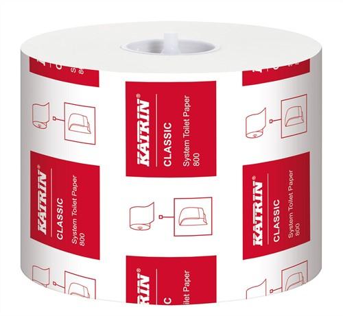 Toiletpapier voor dispensers Classic 2-laags