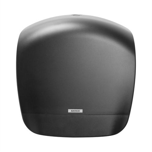 Toiletpapier dispenser Gigant S zwart