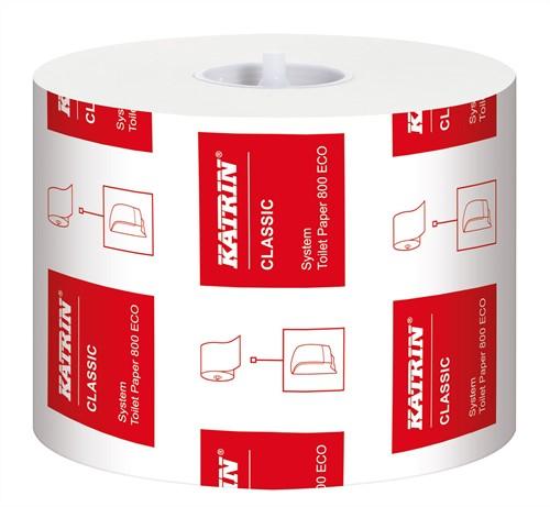 Toiletpapier voor dispensers Classic 2-laags Eco