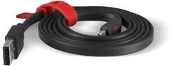 Platte kabel USB/USB-C