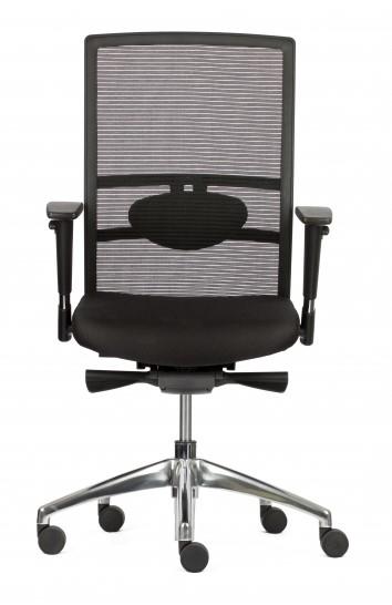 Verstelbare Bureaustoel Zwart.Verstelbare Bureaustoel Proline Go Pro Mesh Zwart Bij Pro Office