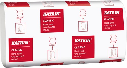 Papieren handoekjes Katrin gevouwen 2-laags M2 LIM