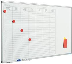 Weekplanner whiteboard Smit Visual 60x120cm