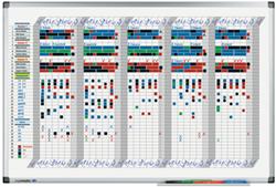 Planbord Legamaster premium weekplanner 60 x 90 cm