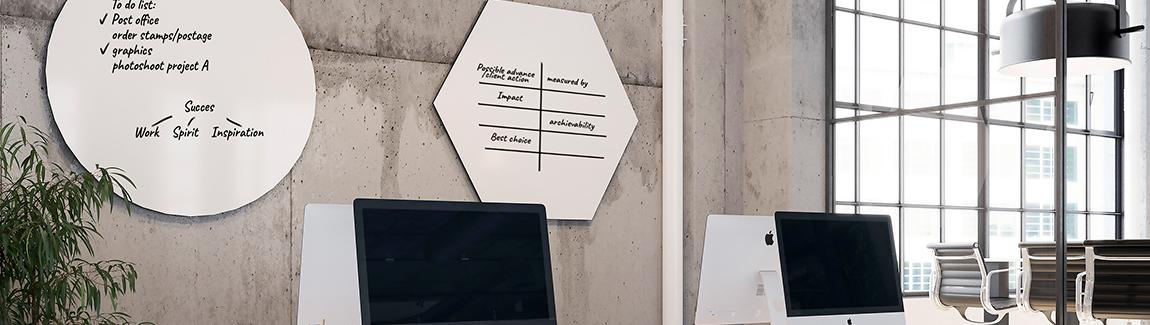 Whiteboard vorm