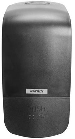 Zeepdispenser Katrin 0,5L zwart